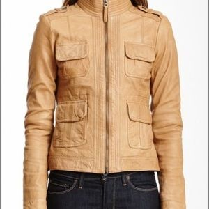 🌼Lucky Brand Leather Jacket